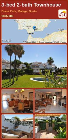 3-bed 2-bath Townhouse in Diana Park, Málaga, Spain ►€325,000 #PropertyForSaleInSpain
