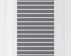 30 colours, White and Grey Striped Area Rug 2x3, Grey and White Stripe Floor Rugs 3x5, Grey Stripe Modern Rug 4x6 (30 colours)