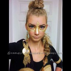 Coolest Homemade War Goddess Athena Halloween Costume ... This website is the Pinterest of costumes