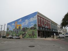 Texas, Street View, Painting, Art, Art Background, Painting Art, Kunst, Gcse Art, Paintings