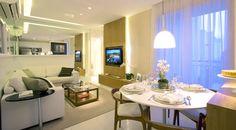 Decoração de apartamentos pequenos - Soluções para compensar a falta de espaço