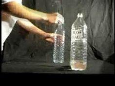 Comment faire un nuage en bouteille ? - Sciences et jeux