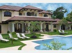 Back of villa