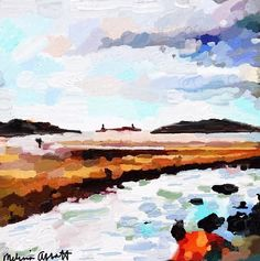 Good Harbor, Salt Island, And Thatcher's Island Print by Melissa Abbott