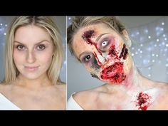 Scary #Zombie : Best #Halloween Makeup Tutorial Videos and Pictures For Women
