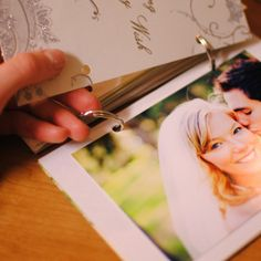 Give the gift of memories! DIY photo album made from old cards