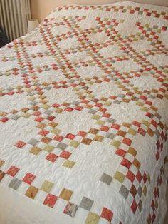 gorgeous double irish quilt