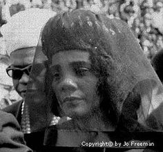 Coretta at Martin Luther King's funeral