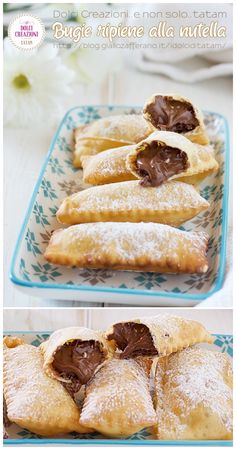 Pastry Recipes, Sweets Recipes, Cookie Recipes, Mini Desserts, Vegan Desserts, Carnival Food, Beignets, Italian Cookies, Frappe