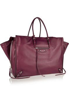 Balenciaga | Papier A4 leather tote | NET-A-PORTER.COM