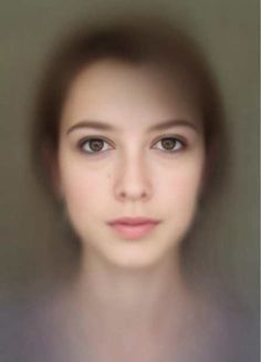 Designer Tiemen Rapati decided to make a composite image showing what the average of the self-portraits looks like. Taking 500 images from clickflashwhirr's Flickr set, Rapati wrote a script that counts the individual RGB values for each pixel, averaging them across the 500 portraits.