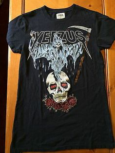 Yeezus Tour Merch Reaper Skull T Shirt Pacsun Limited Kanye West Sold Out | eBay