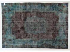 Turquoise Overdye Rug OD1664