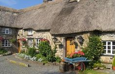 Bearslake Inn is a family owned. quintessential thatched Dartmoor Inn nestled amongst open farmland, moors and tors. Country Cottages, Cabins And Cottages, Devon Holidays, Dartmoor National Park, Cozy Homes, Tavistock, Long House, Tourism Website, Thatched Roof