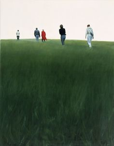 Krümmung, 2002 Ausflug, 2003, Oil on canvas, 90 x 70 cm Reflektion, 2010, Oil on canvas, 205 x 250 cm   80.71 x 98.43 in ...