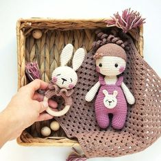 CROCHET PATTERN, Little doll Lora, amigurumi, еaster set, crochet toy This template is available in English. Crochet Toys Patterns, Amigurumi Patterns, Stuffed Toys Patterns, Crochet Dolls, Newborn Toys, Baby Toys, Handmade Baby, Handmade Toys, Baby Gift Box