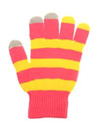 Fun striped wholesale touchscreen gloves @ www.sunben.com- wholesale fashion accessories