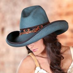 fac4f670cfd Ponderosa straw hat from Crow s Nest Trading Co.