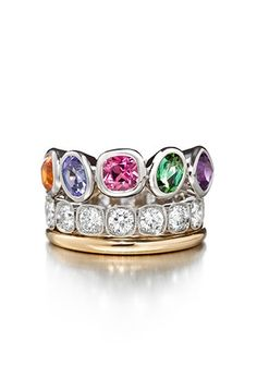 Atelier Torbjörn Tillander Multi Coloured Rings, Signet Ring, Unique Rings, Girls Best Friend, Sapphire, Gemstone Rings, Wedding Rings, Turquoise, Engagement Rings