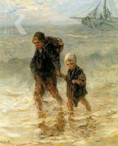 """""""Kinderen der Zee"""" Jozef Israëls"""