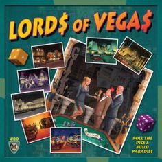Game review: Lords of Vegas is a dice-rolling extravaganza using area control