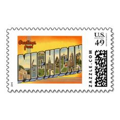87 best greetings from michigan images on pinterest detroit greetings from michigan mi postage m4hsunfo