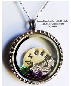 Origami Owl Living Lockets www.natasha.origamiowl.com Facebook: www.facebook.com/Natasha.Lockets Customize your own Living Locket. Can be opened to change or add charms.