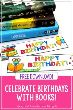 Birthdays are a special day for children of all ages! Here are some tips for how to use books to celebrate student birthdays in the classroom. Student Birthdays, Student Gifts, School Community, Classroom Community, Classroom Birthday Gifts, Teaching Strategies, Teaching Ideas, Teacher Freebies, Read Aloud Books