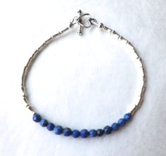 Hey, I found this really awesome Etsy listing at https://www.etsy.com/listing/190774421/lapis-lazuli-bracelet-karen-hill-tribe