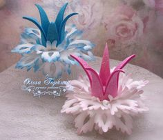 Фотография Foam Crafts, Diy And Crafts, Paper Crafts, Hair Ribbons, Diy Hair Bows, Christmas Art, Christmas Decorations, Christmas Ornaments, Big Flowers