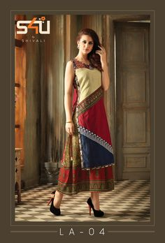 We are the manufacturer and exporter of indian ethnic wear. We have the huge variety and maintain designs at a time. Hijab Fashion, Fashion Dresses, Garba Dress, Indian Fashion, Womens Fashion, African Fashion, Kurti Sleeves Design, Suits For Women, Clothes For Women