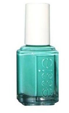 I was feeling summery today and painted my nails this color.  Turquoise & Caicos by Essie, definitely a favorite.