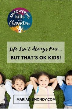 Life Isn't Always Fair...but That's OK Kids!-We're sharing tools to address the concept of FAIRNESS. #Fairness #BeingFair #EmpoweringKids #CharacterTraits Teaching Character, Character Education, Character Development, Create A Superhero, Ivy League Schools, Meeting Agenda Template, Free Thank You Cards, Problem Solving Skills, Optimism