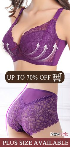 NewChic—Your Private Wardrobe, Women Best for You! Up to 70 OFF, Cool Price but Top Quality! Pretty Lingerie, Bra Lingerie, Mode Outfits, Fashion Outfits, Womens Fashion, New Chic Bras, Zara Tops, Plus Sise, Winter Mode