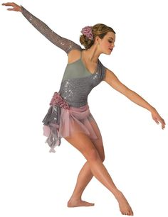 Costume Gallery: Ballet Contemporary Costume Details Junior Team Lyrical - Colder Weather, Zac Brown