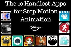 If you are looking for apps to use on your smartphone or device for making stop motion movies, here are the 10 Handiest Apps for Stop Motion Animation recommended by Brick Flicks:  http://www.mykidstime.com/10-handiest-apps-stop-motion-animation/
