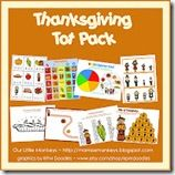 thanksgiving pack from Our LIttle Monkeys
