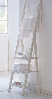 towel rack & shelf
