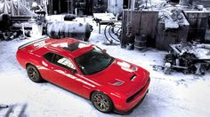 Chrysler has just officially announced the 2015 Dodge Challenger SRT Hellcat with the supercharged platform – the most powerful HEMI engine Chrysler has ever produced. 2015 Dodge Challenger Hellcat, Dodge Srt, Chrysler Dodge Jeep, Jeep Dodge, Charger Srt, Shooting Brake, Pony Car, Sliders, Muscle Cars