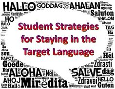 Strategies for Staying in the Target Language, Part IV >> Eye On Education