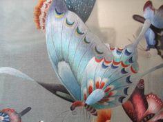 Китайская вышивка шёлком
