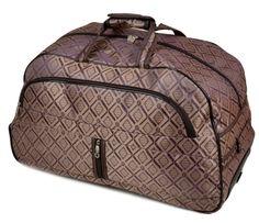 fa5e22a81e71 Дорожная Сумка на колесах текстиль 3005 Big .Купить дорожную сумку саквояж  недорого. - Интернет