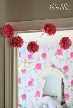 Dear Lillie: The Girls' Christmas Bedroom Dear Lillie, Christmas Bedroom, Cozy House, Bright Pink, Garlands, Girls, Diy, Home Decor, Wreaths
