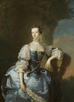 Thomas Hudson, Mrs Emma Harvey, ca. 1755, Bristol Museum and Art Gallery