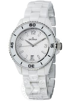 Price:$447.50 #watches Grovana 4001.1183, Grovana is a firm that has made a name for itself in the Swiss watch making industry through innovation and flexibility. Up to the 1970s it made mechanical watches that were always state of the art.