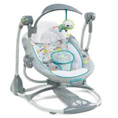 BABYMOOV Swoon Swing Five speeds Five point harness NEW Foldable transportable