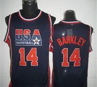 c68769f49774 Team USA  14 Charles Barkley Dark Blue 2012 USA Basketball Retro Stitched  NBA Jersey Usa