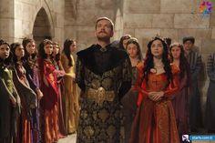 Şehzade Selim (Engin Öztürk), Nurbanu Sultan (Merve Boluğur) -  Muhteşem Yüzyıl 118. Bölüm Fotoğrafları