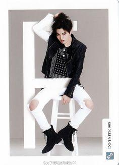 INFINITE | Lee Sung Jong (sungjong) | Collection Card Vol. 2 | tumblr Lee Sungyeol, Dong Woo, Group Dance, Myungsoo, Dance Choreography, Infinite, Singing, Kpop, Angels