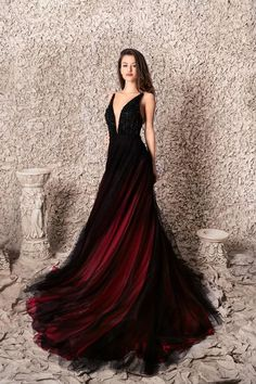 Ball Dresses, Evening Dresses, Prom Dresses, Formal Dresses, Elegant Dresses, Pretty Dresses, Black Wedding Gowns, Black Ball Gowns, Fantasy Gowns